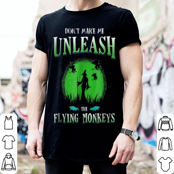 Nice Witch Flying Monkeys Witches Mom Gift Halloween shirt