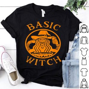 Official Basic Witch Womens Halloween Costume Coffee Lover Gift shirt