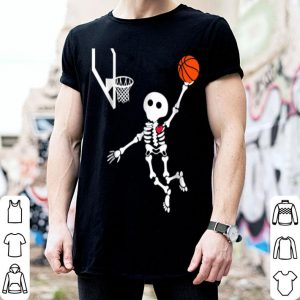 Official Basketball Skeleton Halloween shirt