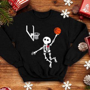 Official Basketball Skeleton Halloween shirt