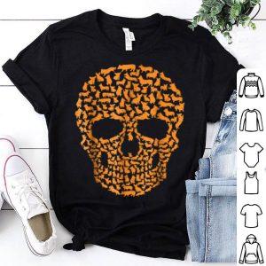 Official Dog Corgi Cool Skull Halloween Costume Idea Gift shirt