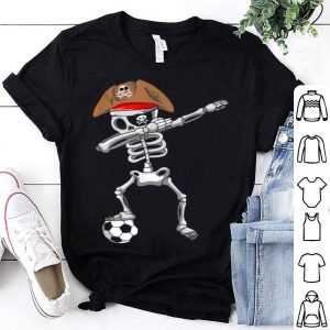 Official Halloween Soccer - Pirate Dabbing Skeleton Soccer shirt
