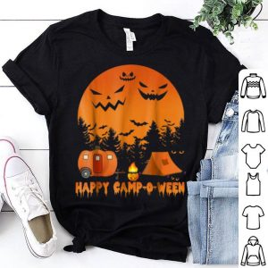 Official Happy Camp-o-ween Funny Camping Halloween shirt