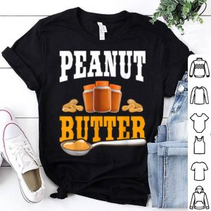 Official Peanut Butter Funny Matching Halloween Party Costume Gift shirt