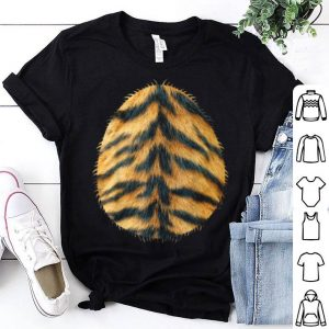 Original Halloween Easy Tiger Costume Belly For Kids shirt