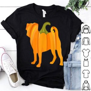Original Halloween Pug Pumpkin Women Dog Owners Gifts shirt