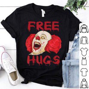 Premium Free Hugs Evil Killer Scary Clown Halloween Gift shirt