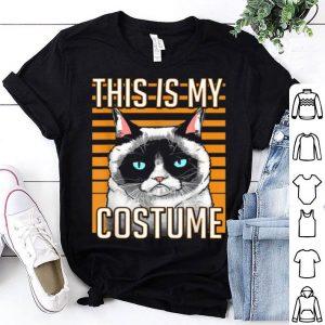 Premium Grumpy Cat Halloween This Is My Costume Graphic shirt