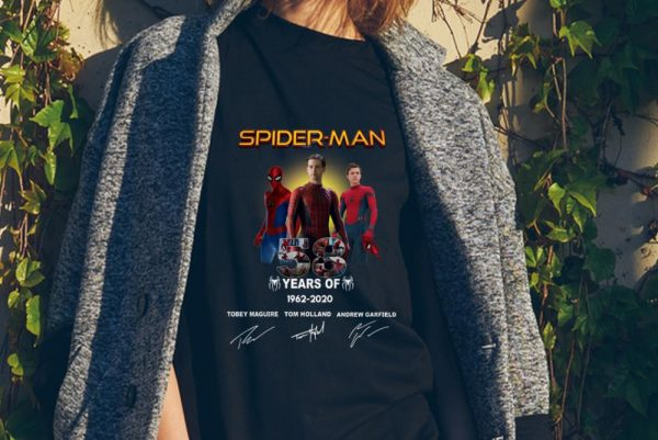 Spider Man 58 Years Anniversary 1962-2020 Signature sweater