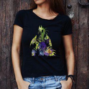 Top Disney Sleeping Beauty Maleficent Dragon Silhouette shirt 2