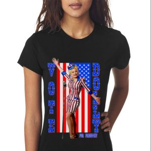 Top Dolly Parton For President American Flag guy tee 2