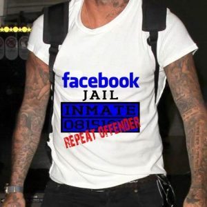 Top Facebook Jail Inmate Repeat Offender guy tee
