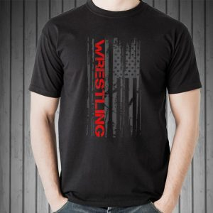 Wrestling Sport American Flag sweater 1