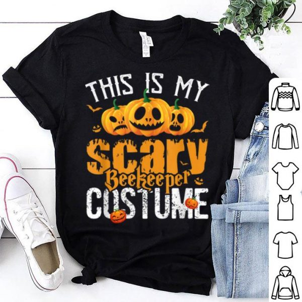 Awesome Beekeeper Scary Halloween Funny Costume shirt