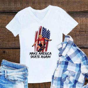 Awesome Make America Skate Again Trump shirt