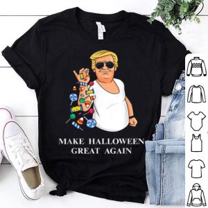 Awesome Trump Bae Funny Halloween Candy Salt shirt