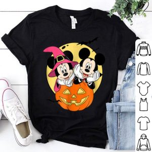 Beautiful Disney Mickey and Minnie Halloween shirt