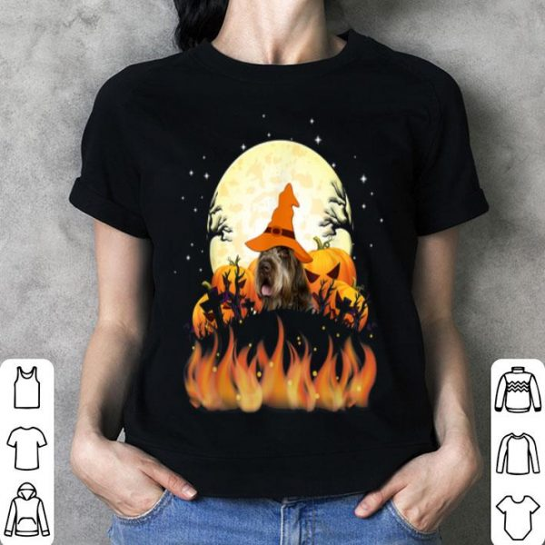 Beautiful Wirehaired Pointing Griffon Dog Lovers Halloween shirt