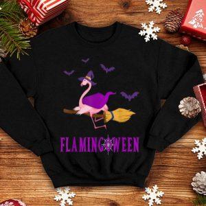 Funny Halloween Costume Flamingoween Funny Flamingo Gift shirt