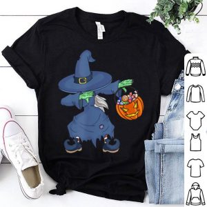 Funny Happy Daboween Scary Witch Halloween Dabbing Trick Dab shirt