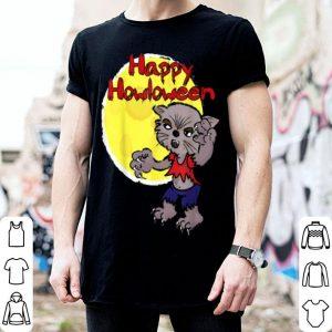 Halloween Moon & Werewolf Lover shirt