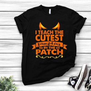 Halloween Teacher Cutest Pumpkin Adult shirt