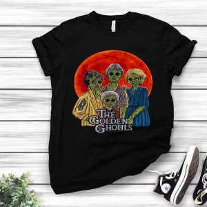Halloween The Golden Ghouls Blood Moon shirt