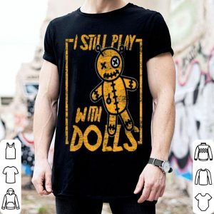 Halloween Voodoo Doll Costume Gift Scary Karma shirt