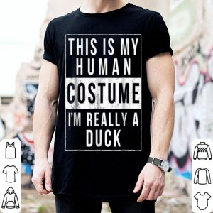 Hot Duck Halloween Costume Funny Easy For Kids Adults shirt