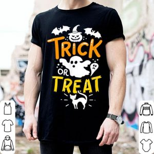 Hot Happy Halloween Trick Or Treat Party Ghost Bat shirt