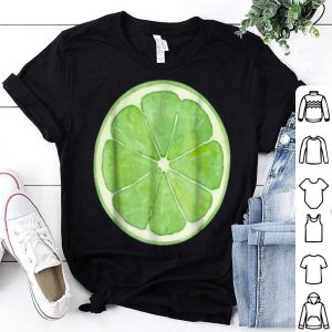 Hot Lime Slice Fruit Halloween Costume Cute Vegan shirt