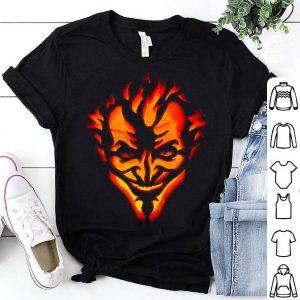Joker Carved Pumpkin Jack-o-lantern Halloween shirt