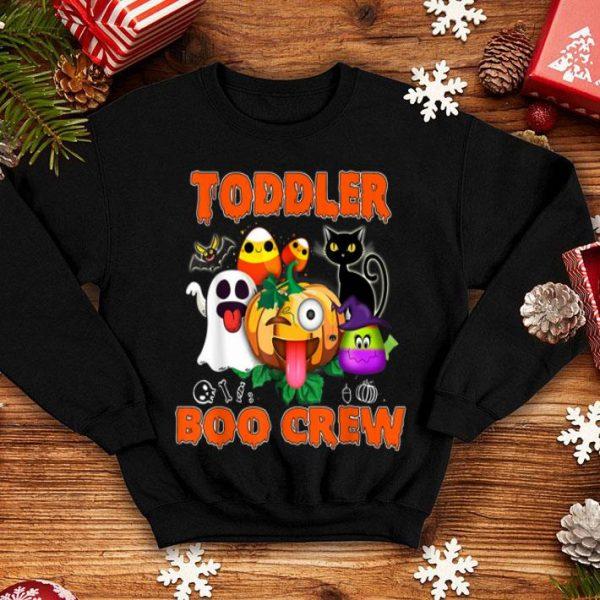 Official Black Cat Pumpkin Candy Ghost Toddler BOO Crew shirt