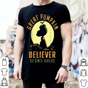 Official Great 1966 Pumpkin Halloween Believer shirt