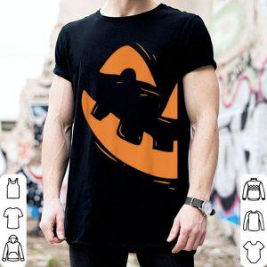 Original Jack-o-lantern Pumpkin Face Halloween Matching Couple shirt