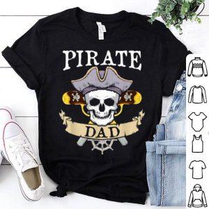 Pirate Dad Halloween Matching Family Costume shirt