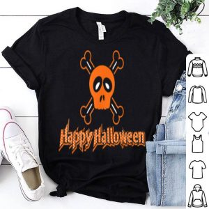 Premium Pirate Skull Happy Halloween Costume Cross Bones shirt