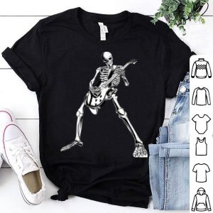 Premium skeleton playing guitar electric Acoustic Classical shirt