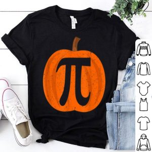 Pumpkin Pi Halloween Math Teacher Gifts For Kids shirt