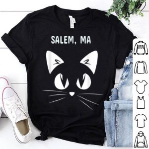 Top Salem, Ma Black Cat Halloween 2018 shirt