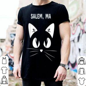Top Salem, Ma Black Cat Halloween 2018 shirt