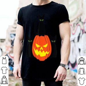 Top Spooky Black Cat - Halloween Pumpkin Cats shirt