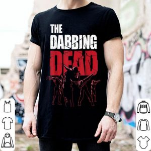 Top The Dabbing Dead Zombie Walking Dab Halloween Gift shirt