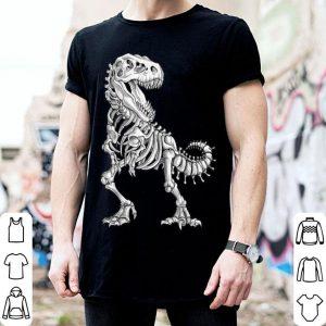 Awesome Dinosaur Skeleton T rex Halloween Kids Boys Men Gift shirt