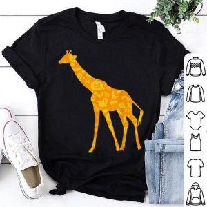 Awesome Giraffe Halloween Party Pumpkin Pattern Gift shirt