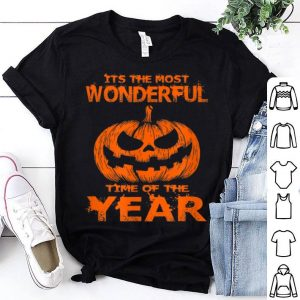 Awesome Halloween The Most Wonderful Time Of The Year shirt