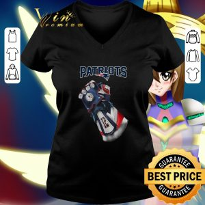 Awesome New England Patriots Infinity Gauntlet shirt