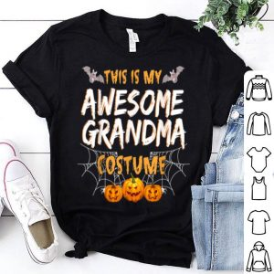 Awesome This Is My Awesome Grandma Costume Halloween Gift shirt