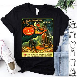 Awesome Vintage Halloween Witch shirt