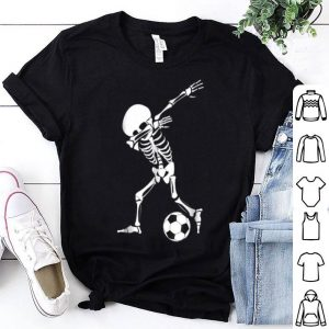 Beautiful Dabbing Skeleton Soccer - Funny Halloween Dab shirt